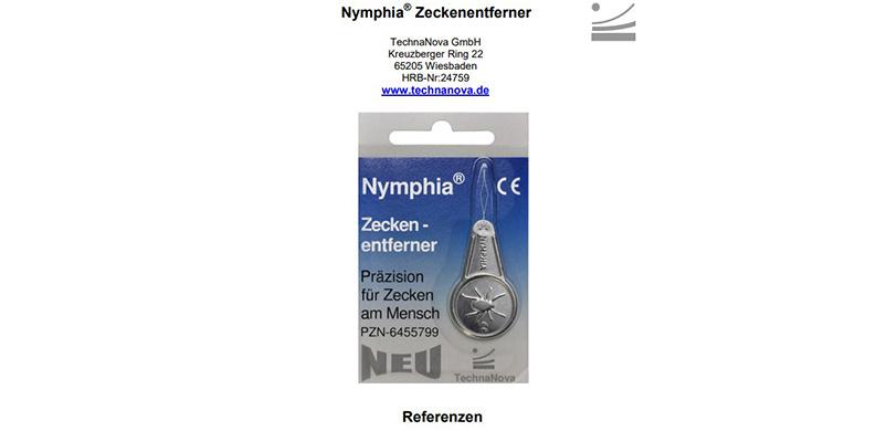 ПРЕПОРЪКИ Nymphia® Techna-Nova-Neu-Alleinstellungsmerkmal